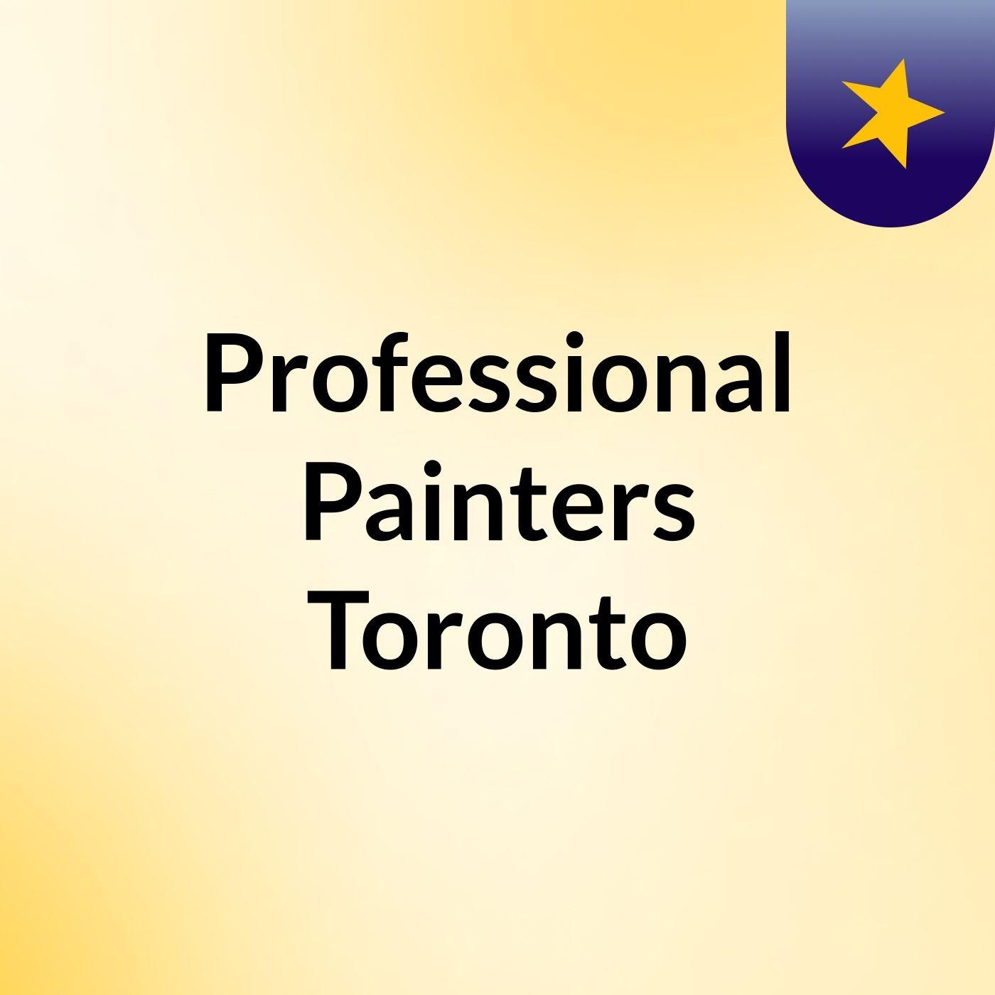 Professional Painters Toronto