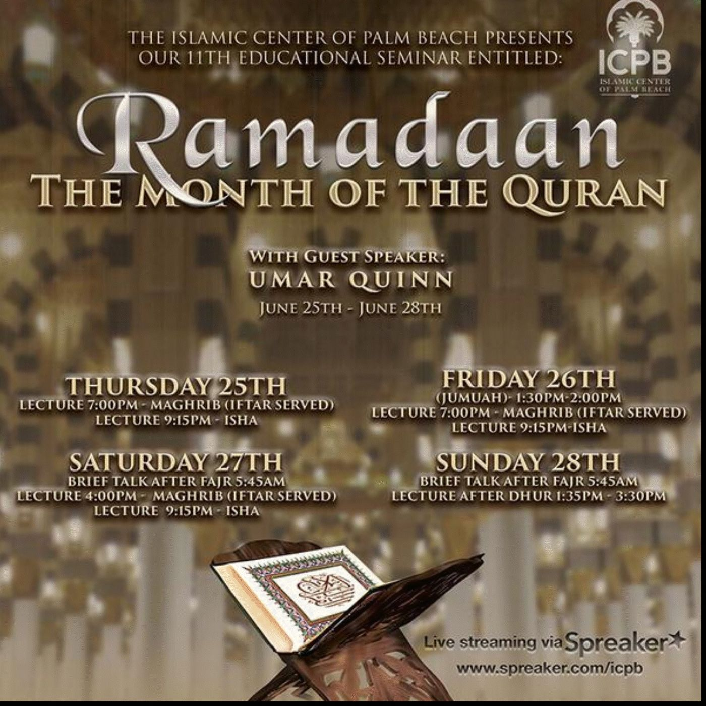 Ramadan - The Month of the Quran