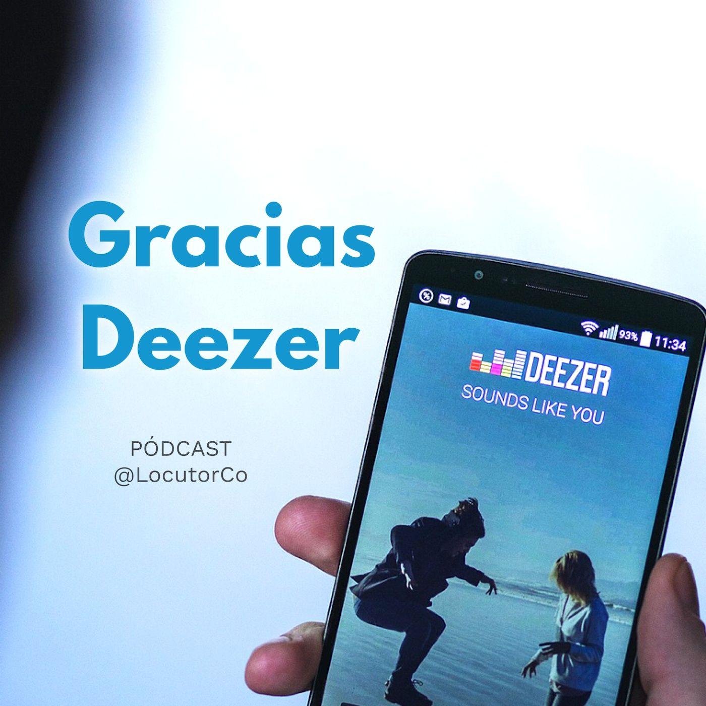 Este podcast en Deezer y Spotify ¡Gracias!