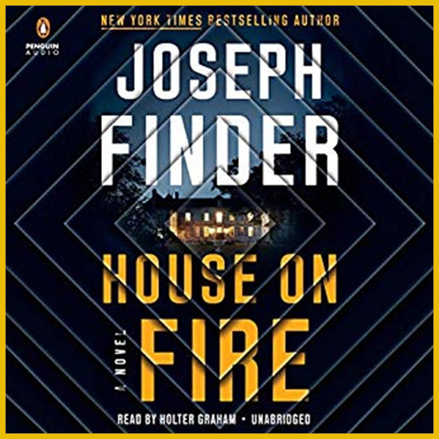 JOSEPH FINDER - House On Fire