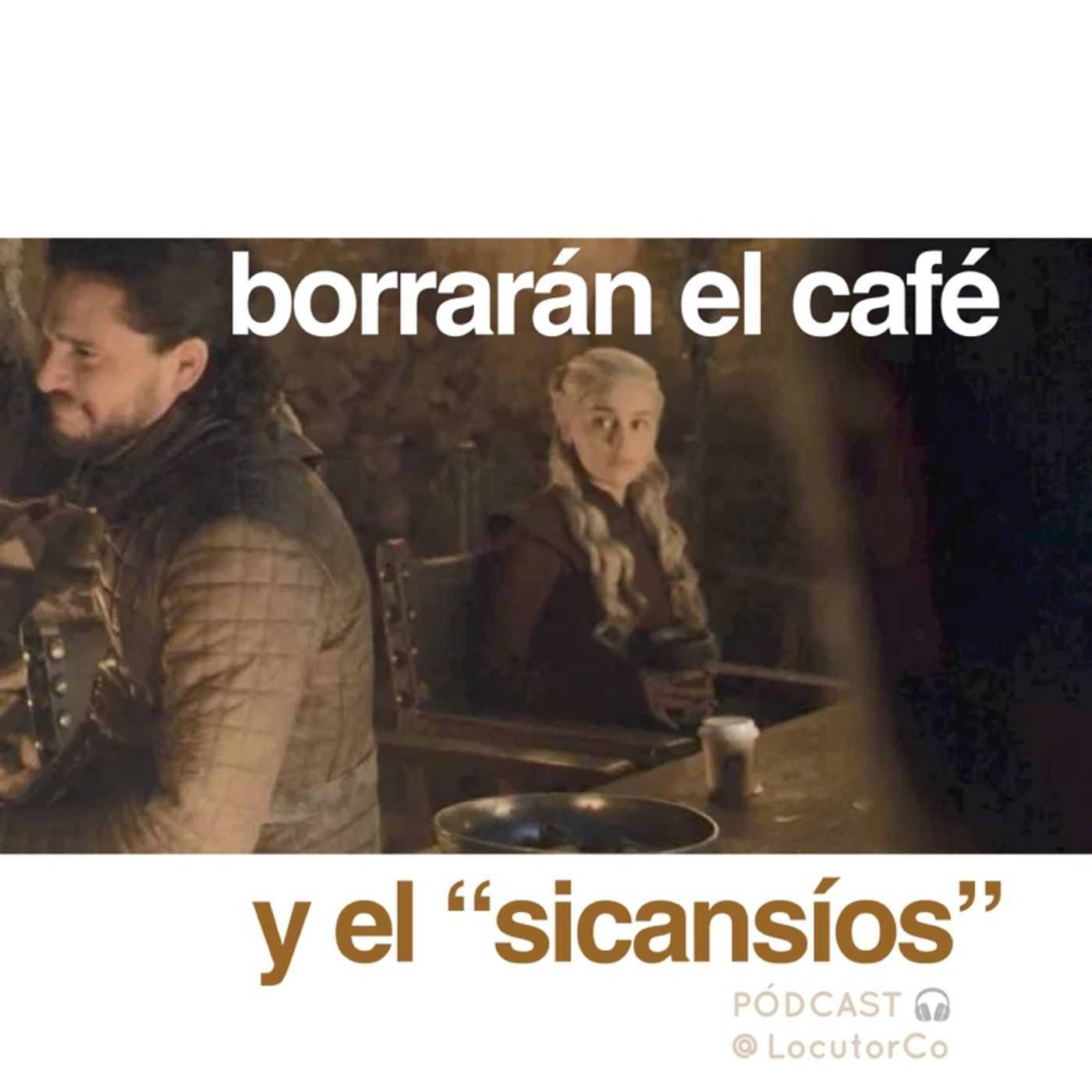 Retocar una serie: borran el café de Game of Thrones