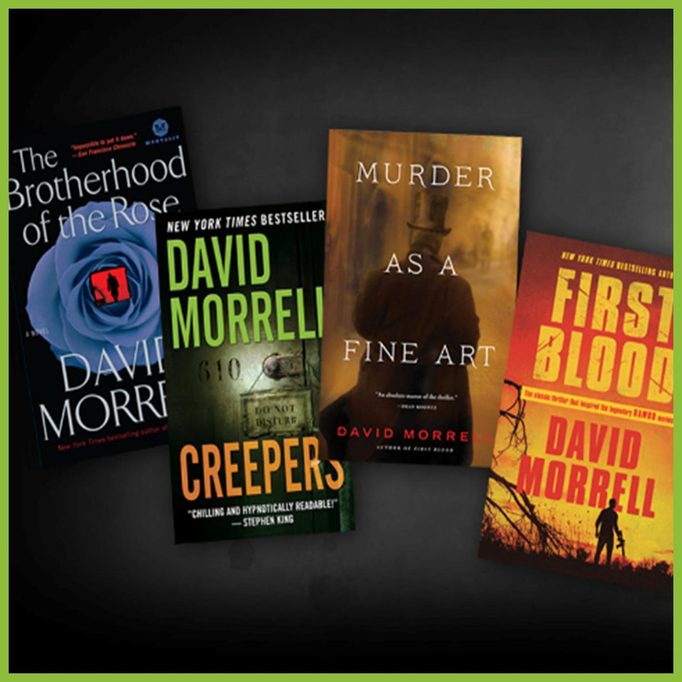 DAVID MORRELL - First Blood & More (WBW)