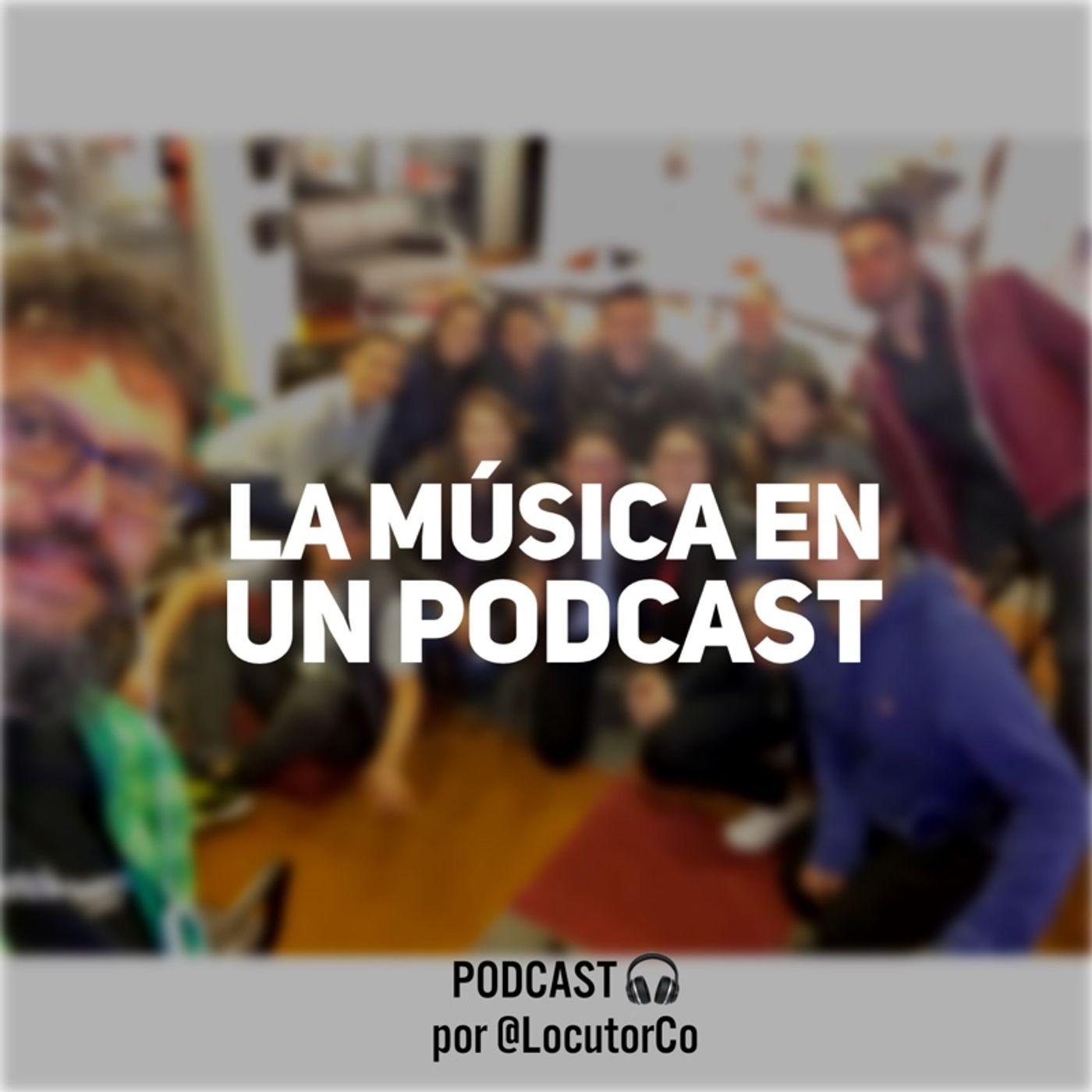 La música en un podcast