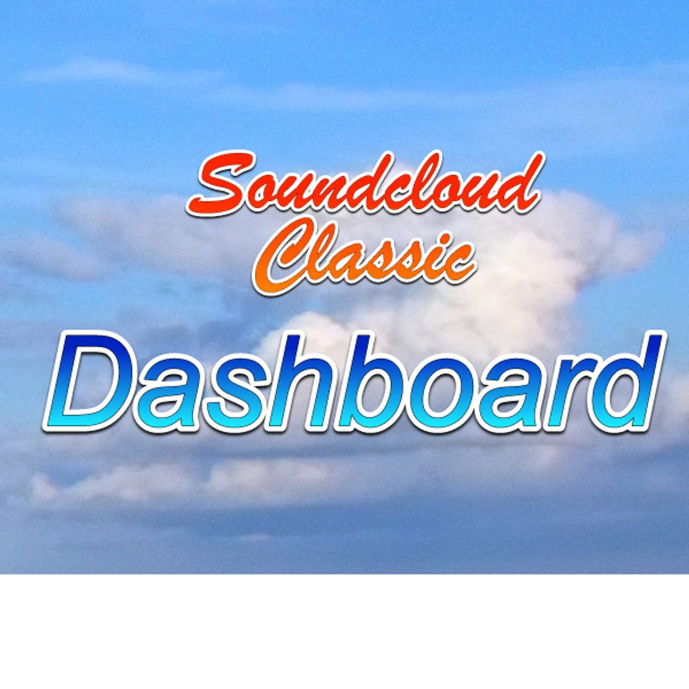 Soundcloud Classic Dashboard
