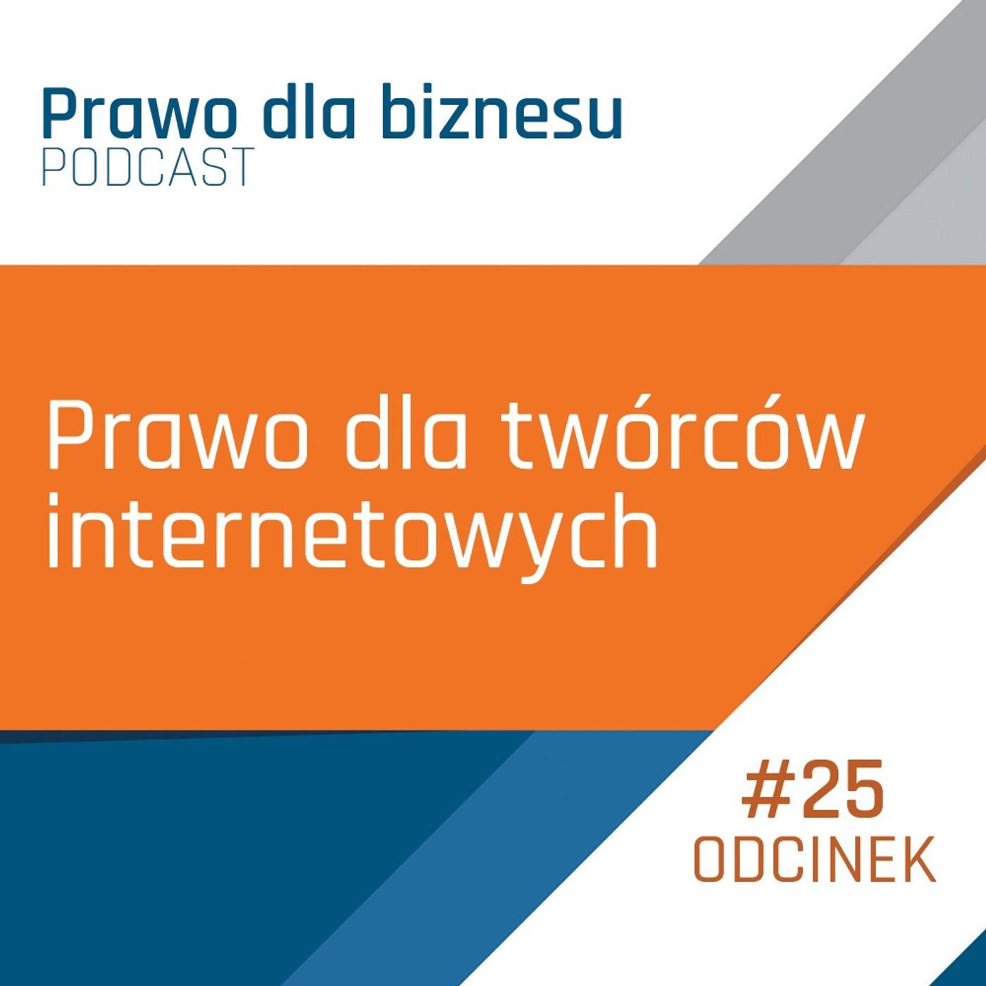 Prawo dla twórców internetowych