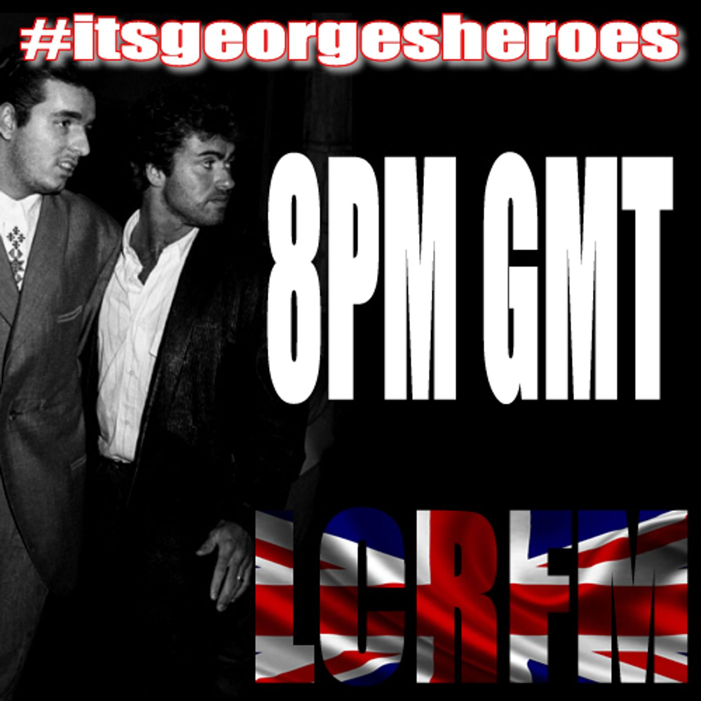 itsGeorgesheroes ...  the songs that George Michael ...  grew up listening to ... & WHAM ... #itsandros