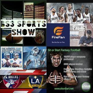 BS3 Sports Show 10.22.16 (Sponsors @SitOrStartApp @FireFanSports)