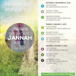 The Path To Jannah( الطريق الى الجنة)