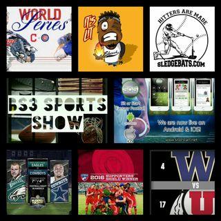 BS3 Sports Show 10.29.16 (Sponsors @SitOrStartApp @Sledgebats)