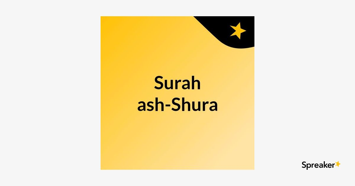 Tafsir Surah as-Shura