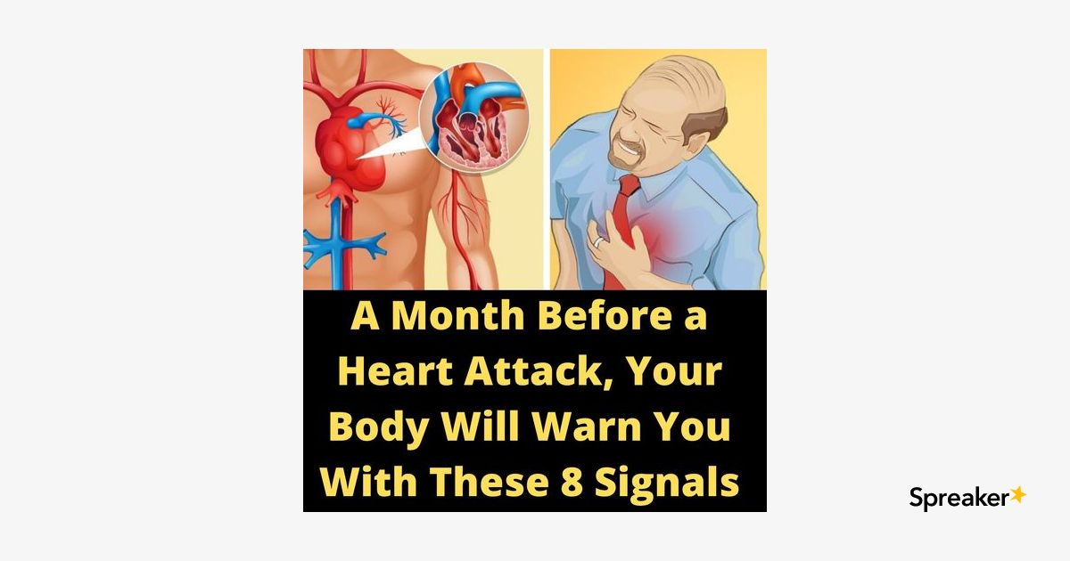 8 Sign You're Going to Have Heart Attack