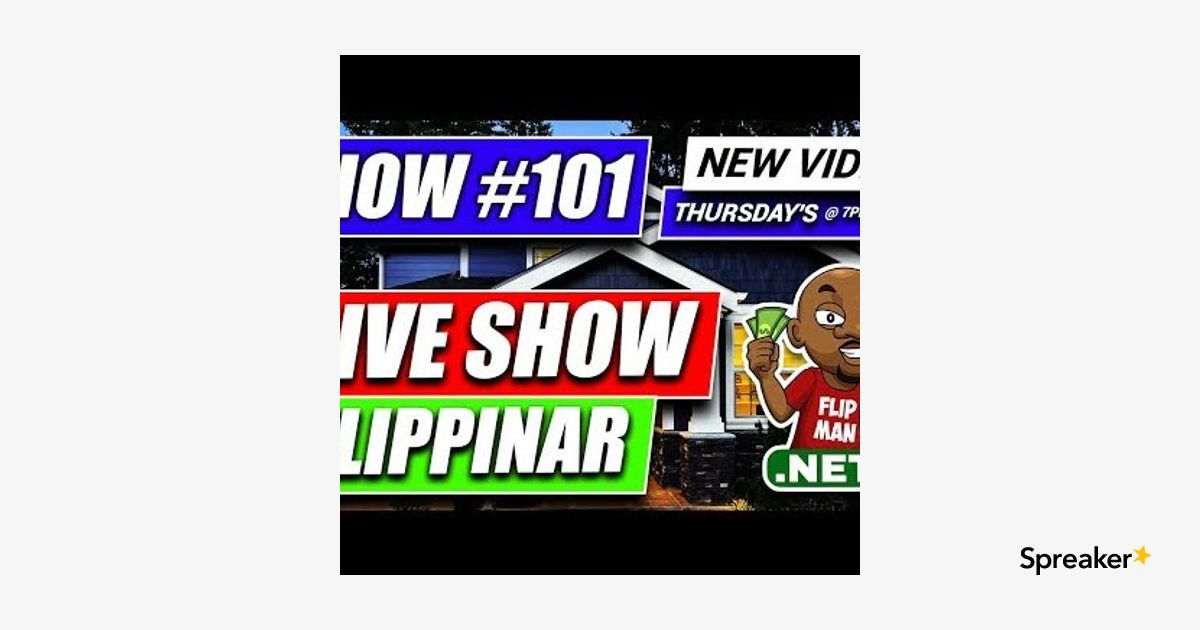 How to Wholesale Real Estate Free Training [LIVE SHOW Flippinar #101]