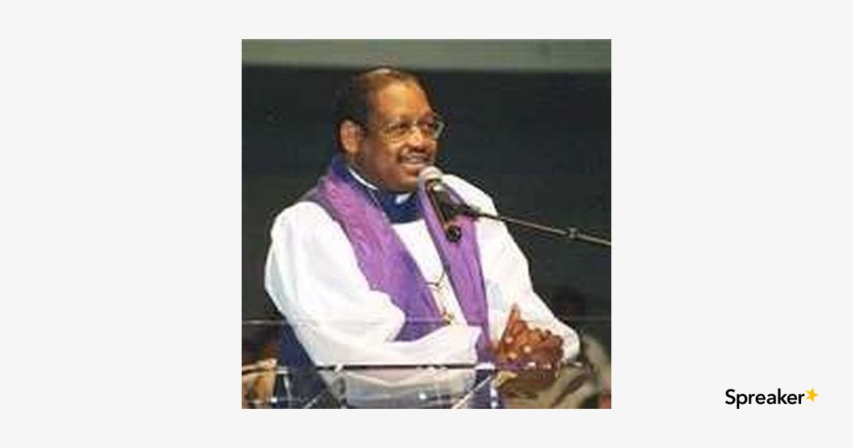 Bishop GE Patterson Of The Church Of God In Christ