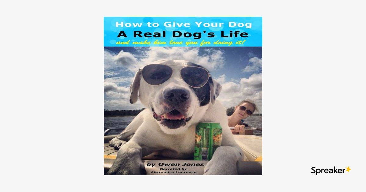 How to Give Your Dog a Real Dog's Life