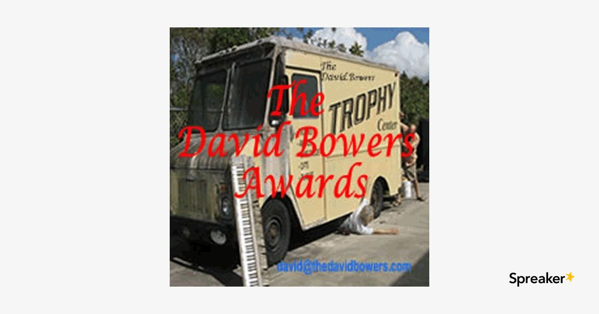 TheDavidBowersAwards with The BuzzHounds and Focus Your Audio