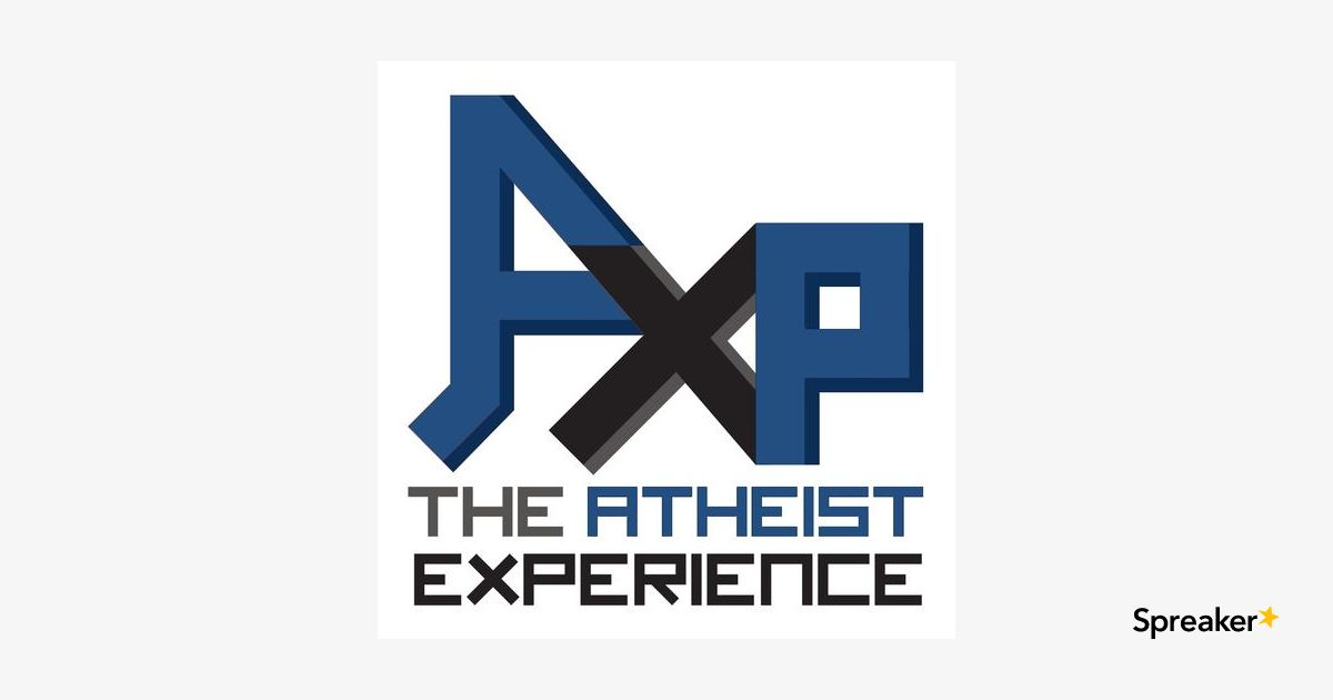 Atheist Experience 24.08 2020-02-23 with Matt Dillahunty & Darrel Ray