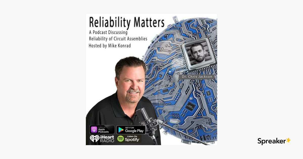 Episode 45: A Conversation with Dr. Chris Jackson About Reliability