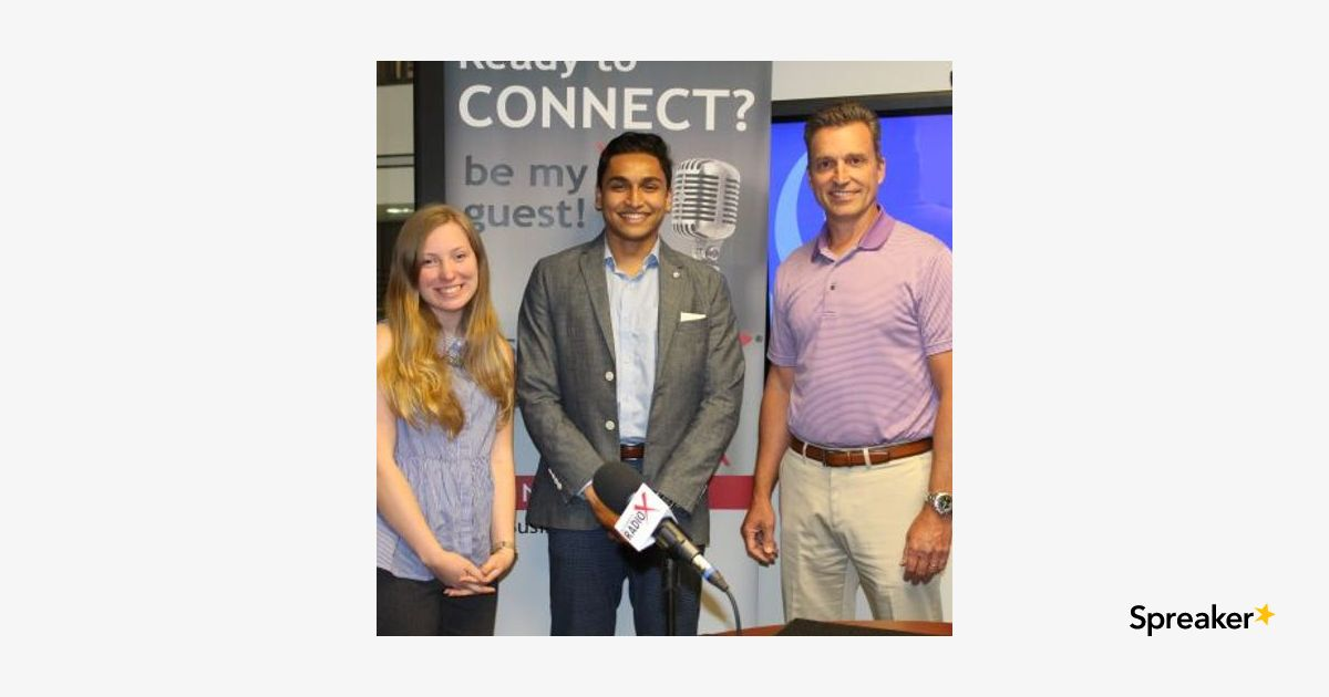 Matt Bramblett with GSU Entrepreneurship and Innovation Institute and Lexie Newhouse and Qazi Haq with papAR