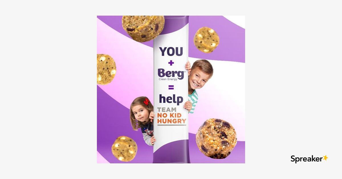 Berg Bites Donates 100% to No Kid Hungry