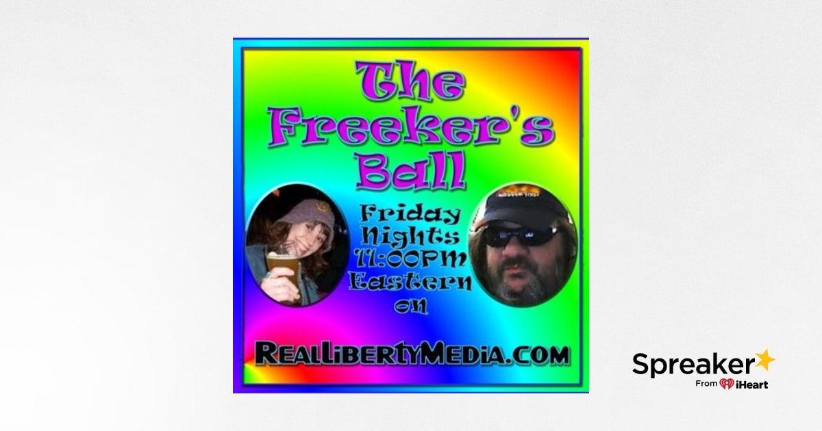 The Freeker's Ball Podcast: 2019-04-19 - #Wikileaks #UFOTech #SolarStorm #AntiVax #PetSemetary