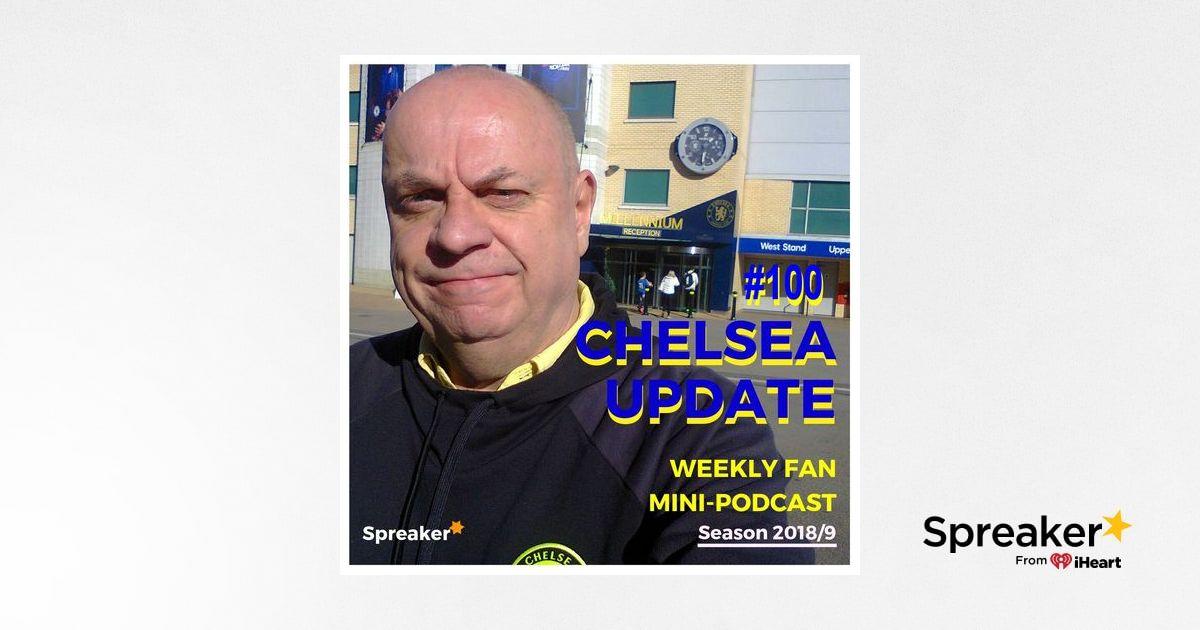Preview: Chelsea v Arsenal ( 25/05/19 C U #100 )