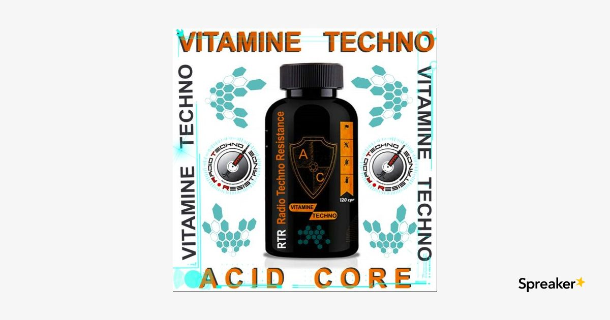 VITAMINE TECHNO 001 -A C - ACID CORE - Vinyls Selection by Gimmy