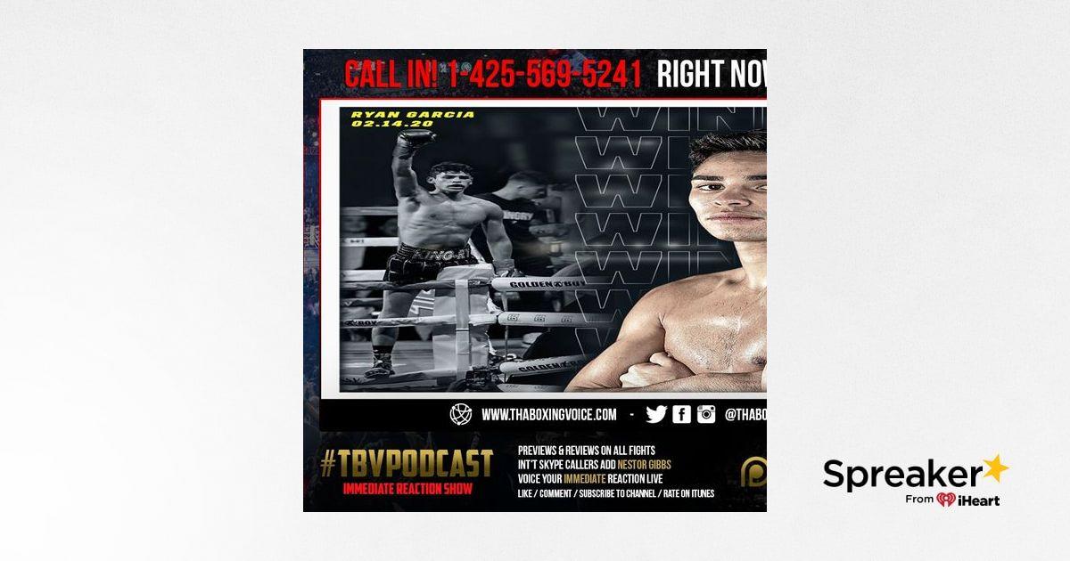 "☎️Immediate Reaction ""King"" 👑 Ryan Garcia Shocks The World 🌎 With 1 Round KO Fonseca❗️"