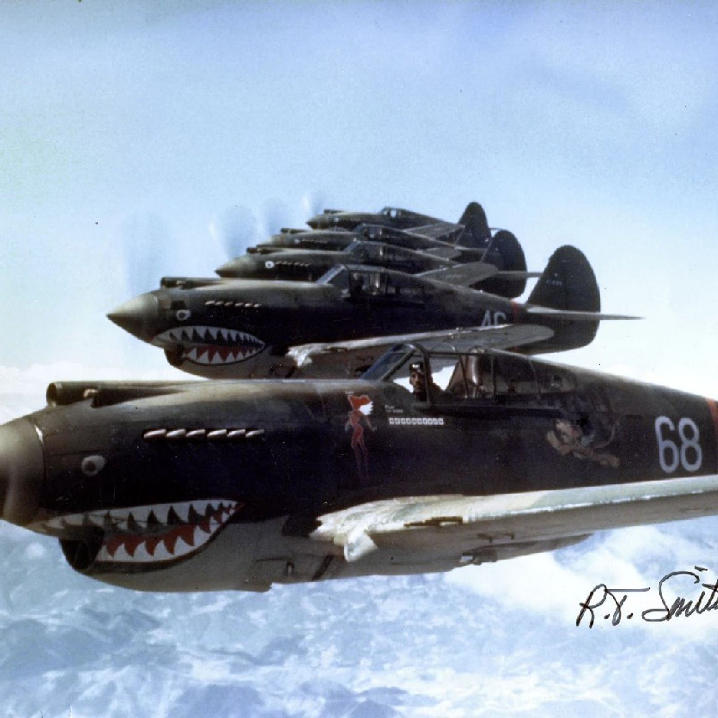 Episode 1322 - The Flying Tigers of World War II & 10-Year Old Boy Spots Woman Drowning