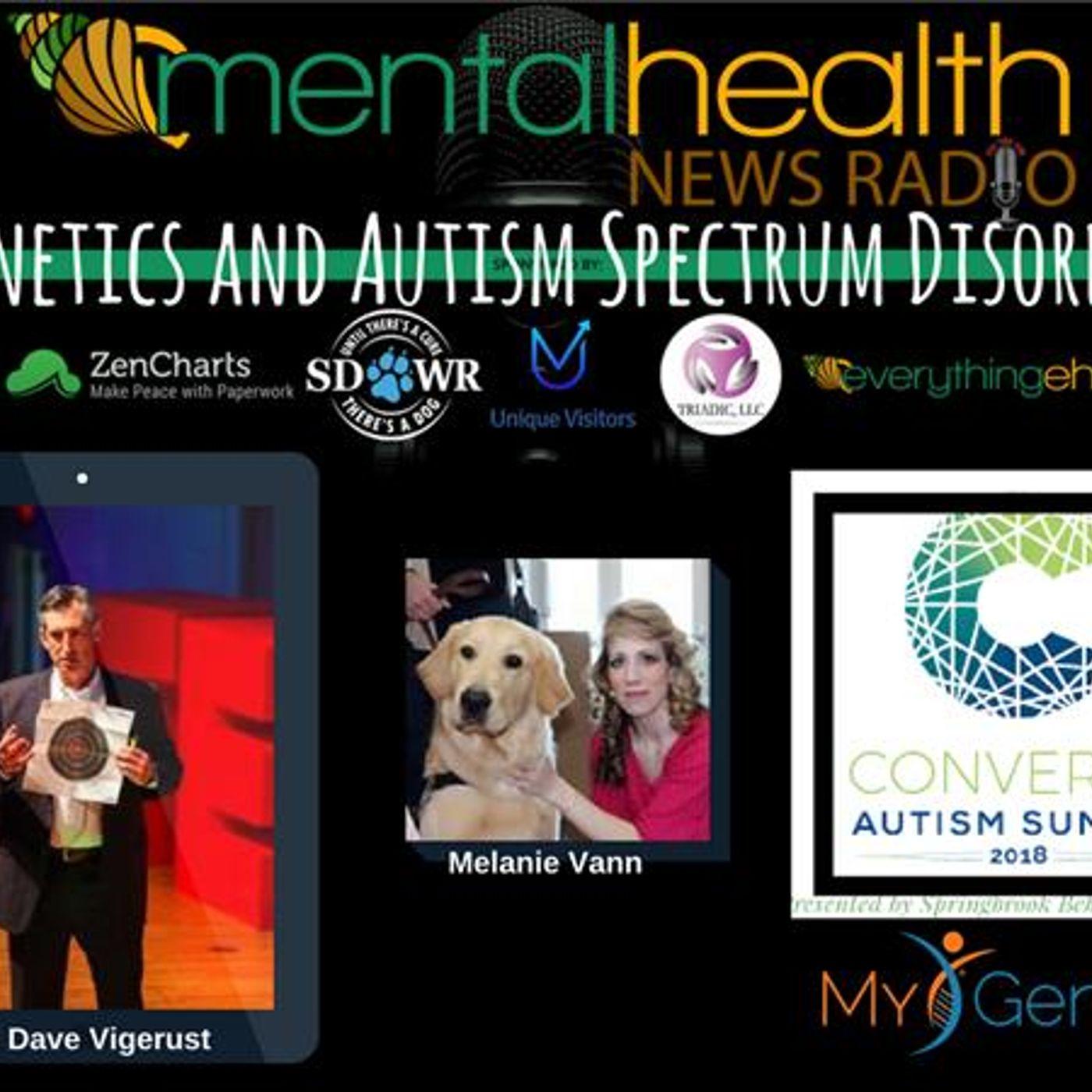Mental Health News Radio - Genetics and Autism Spectrum Disorder: Dr. Dave Vigerust with MyGenetx