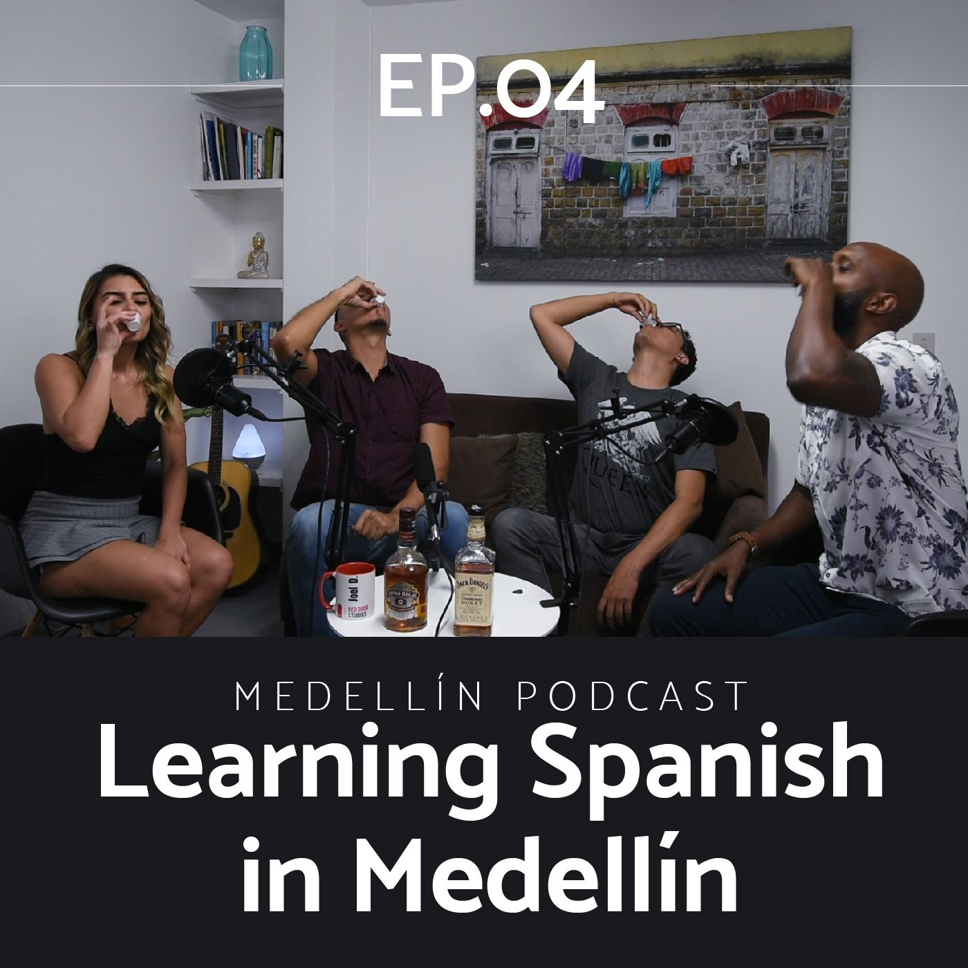 Learning spanish in Medellin - Medellin Podcast Ep. 04