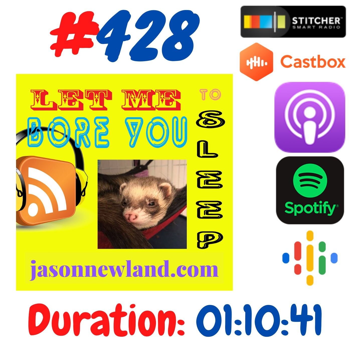 #428 Let me bore you to sleep - Jason Newland (13th June 2020)