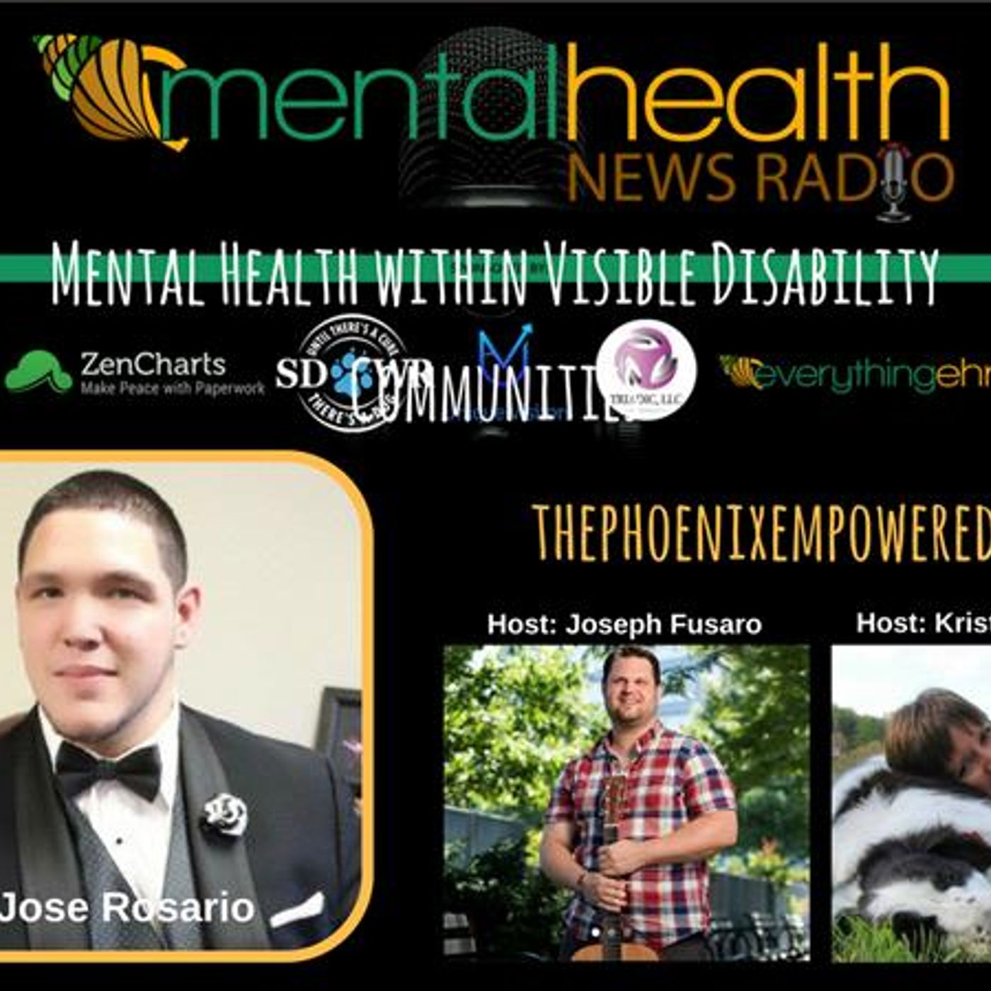 Mental Health News Radio - Mental Health within Visible Disability Communities: Advocate Jose Rosario
