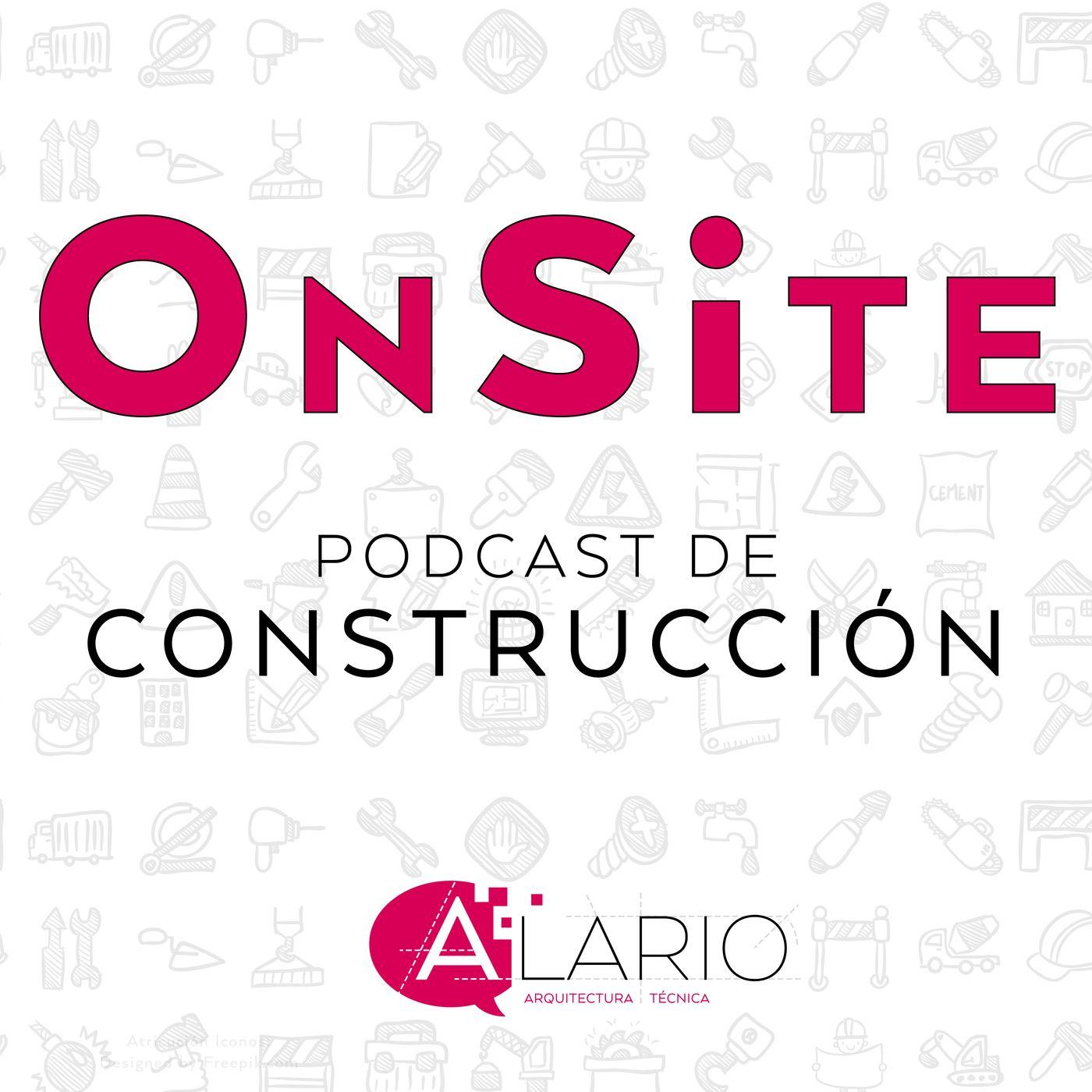 Logo de OnSite Podcast de Construcción