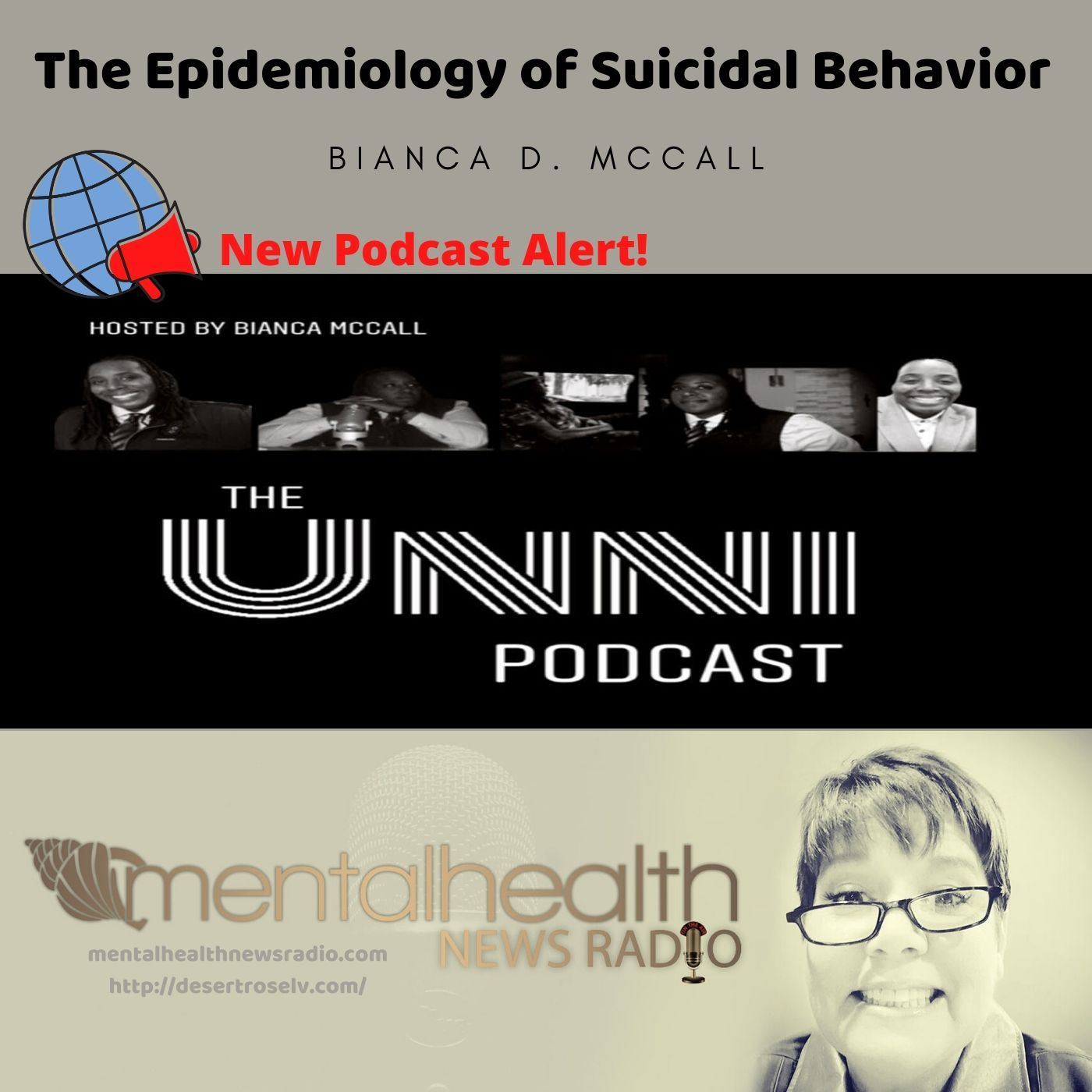 Mental Health News Radio - The Epidemiology of Suicidal Behavior with Bianca D. McCall