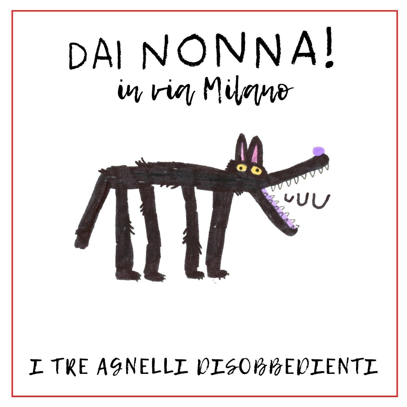 I tre agnelli disobbedienti - DN in via Milano
