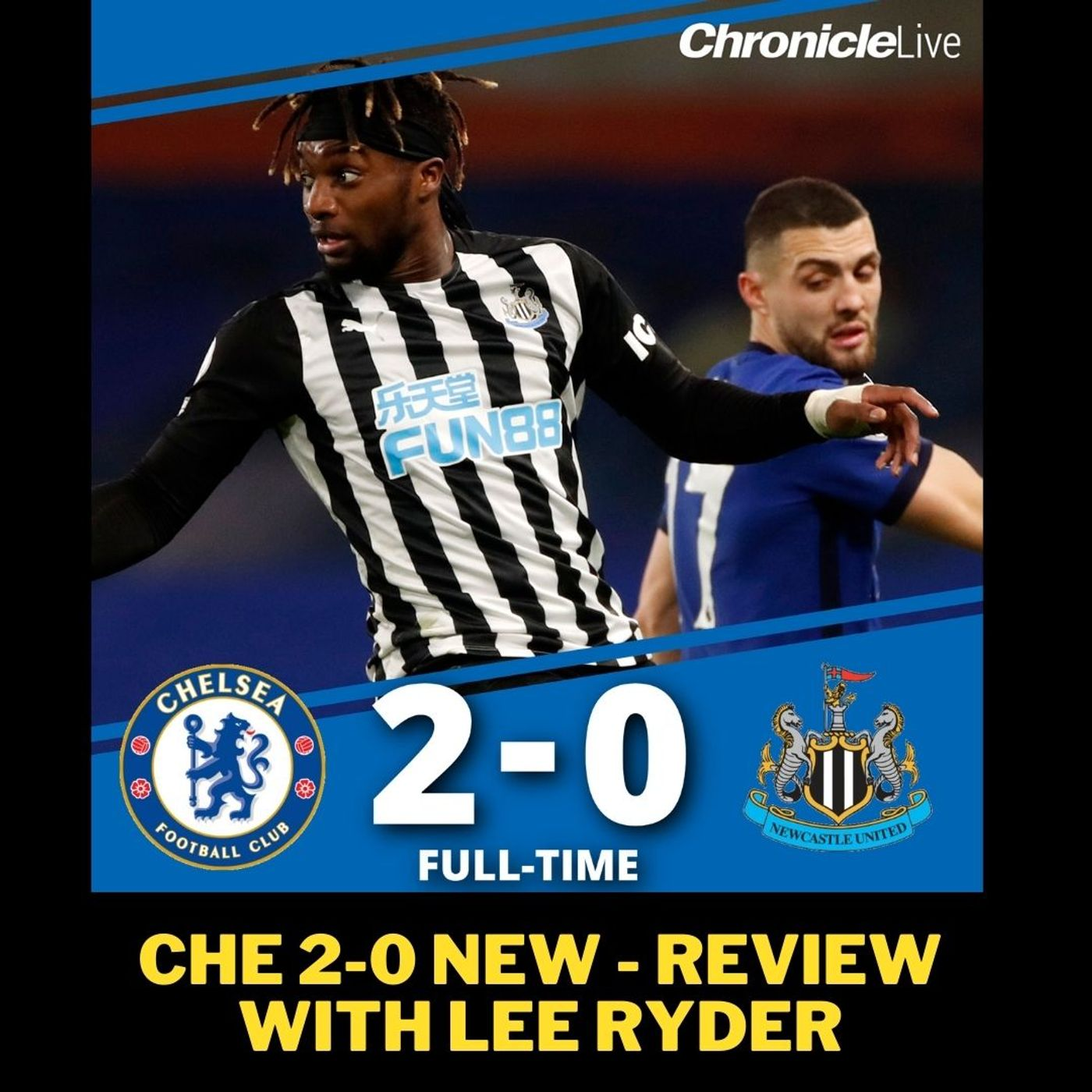 'The fight doesn't seem to be there' - Lee Ryder's message after Newcastle lose 2-0 to Chelsea