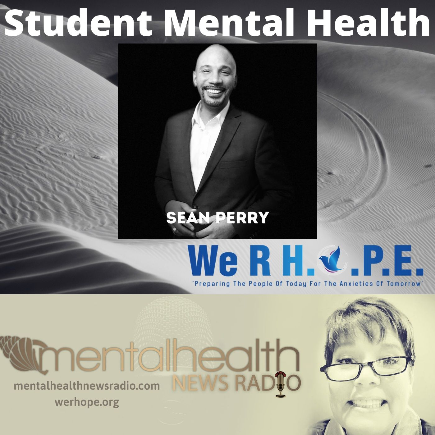 Mental Health News Radio - Student Mental Health with Sean Perry