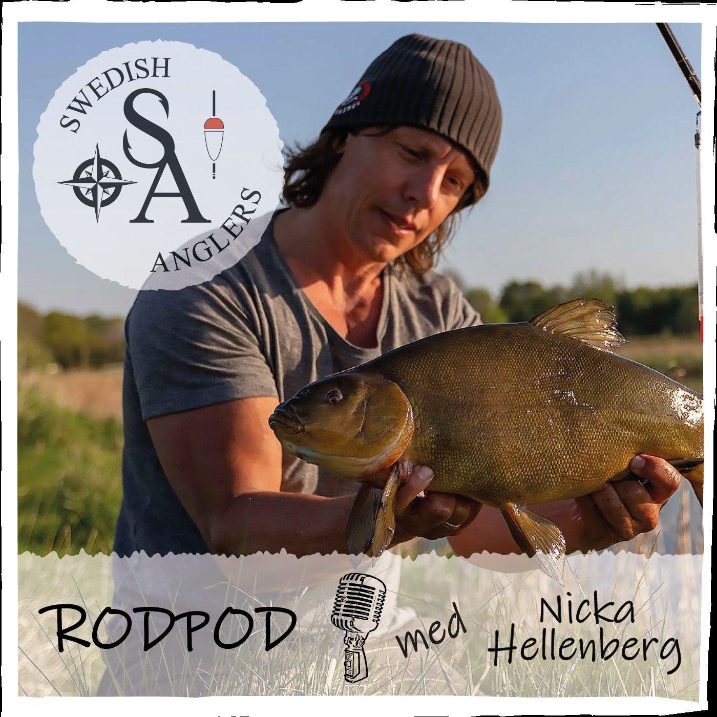Swedish Anglers RodPod Avsnitt 6 med Nicka Hellenberg
