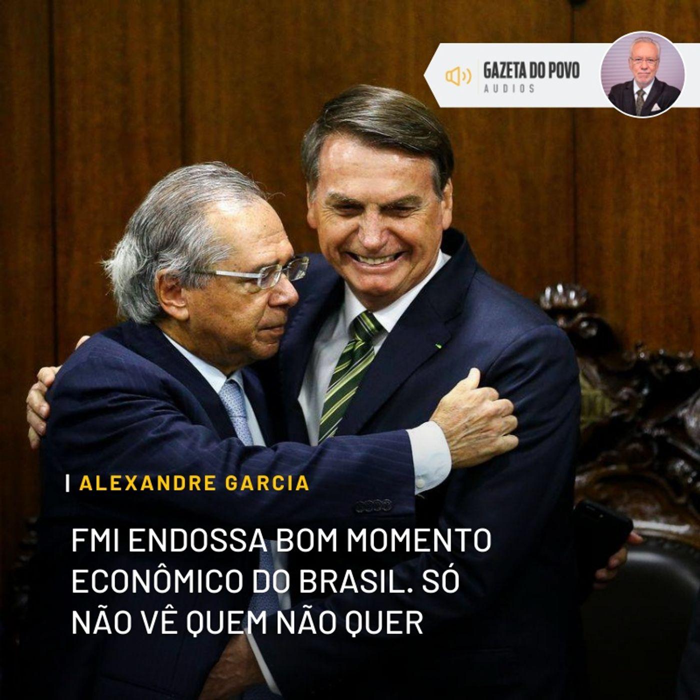 FMI endossa bom momento econômico do Brasil