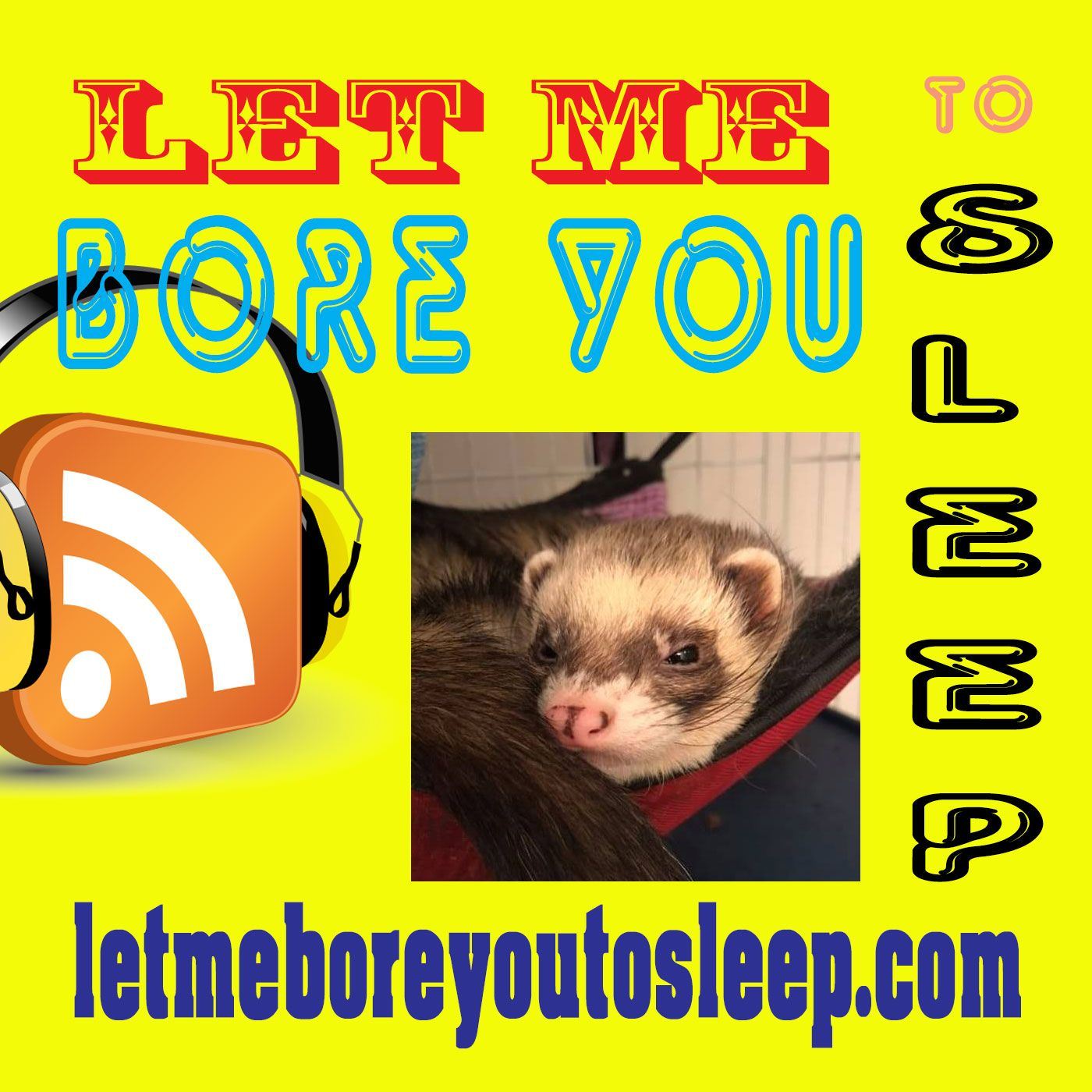#136 Let me bore you to sleep - Jason Newland (26th April 2019) - letmeboreyoutosleep.com