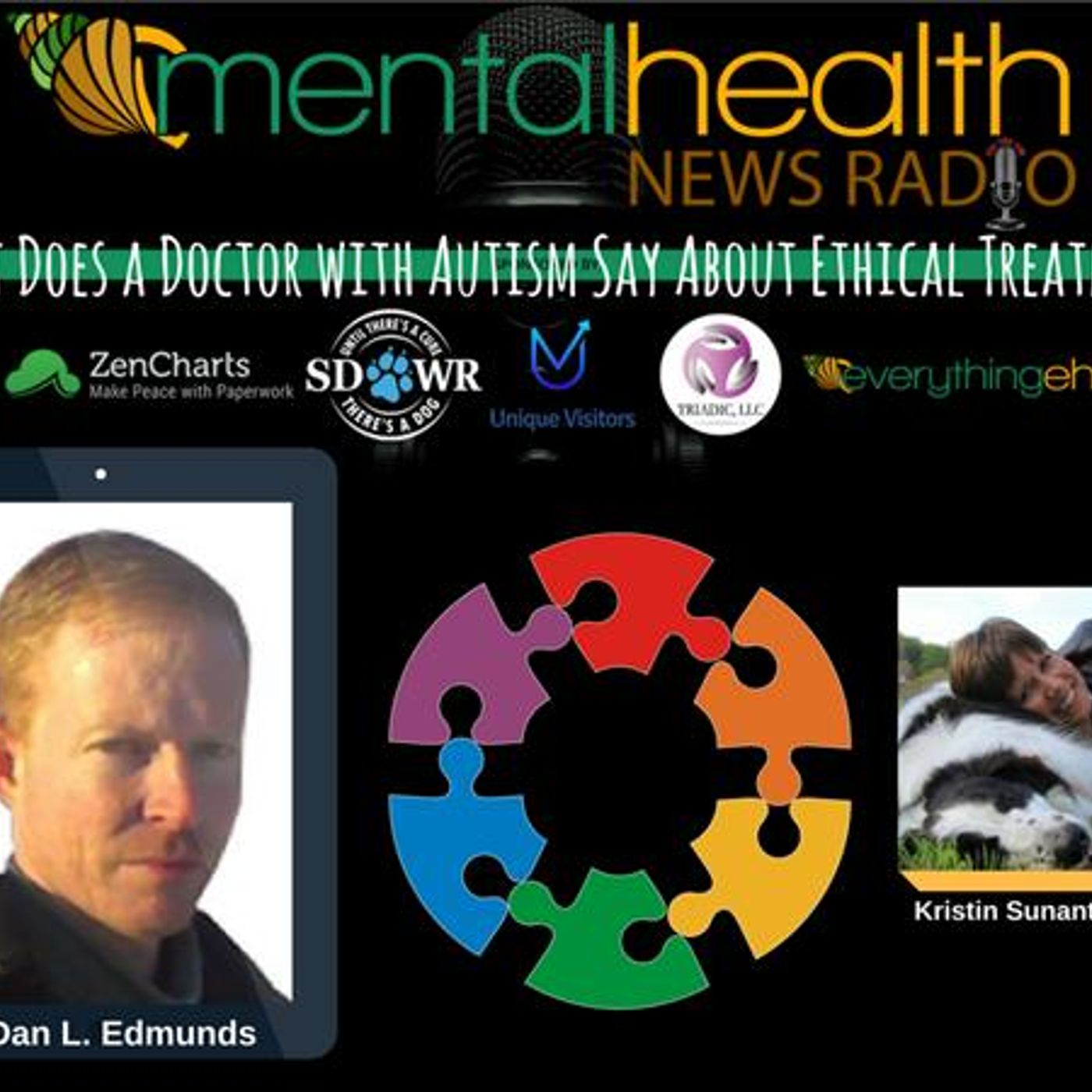 Mental Health News Radio - What Does a Doctor with Autism Say About Ethical Treatment: Dr. Dan L. Edmunds
