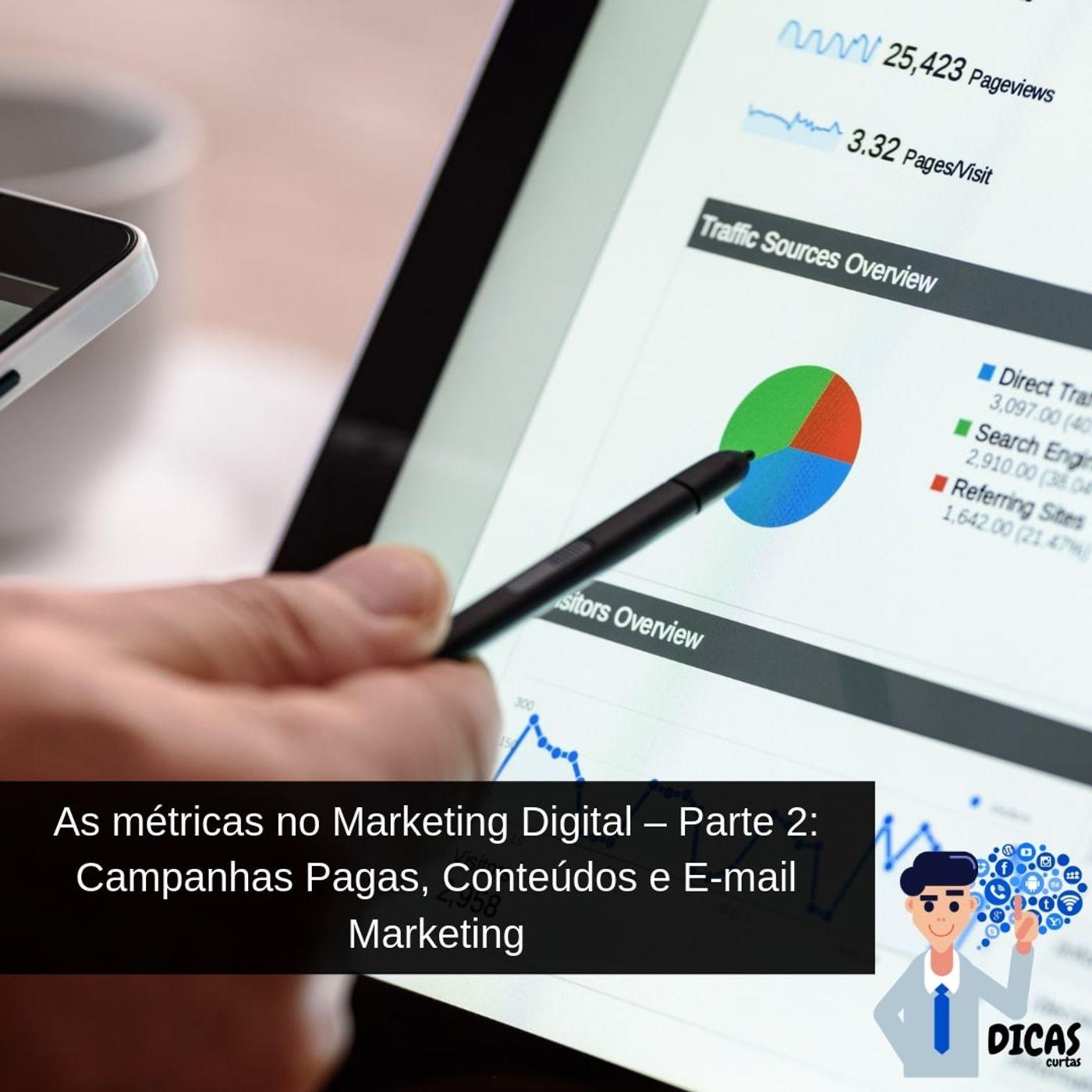 071 As métricas no Marketing Digital – Parte 2: Campanhas Pagas, Conteúdos e E-mail Marketing