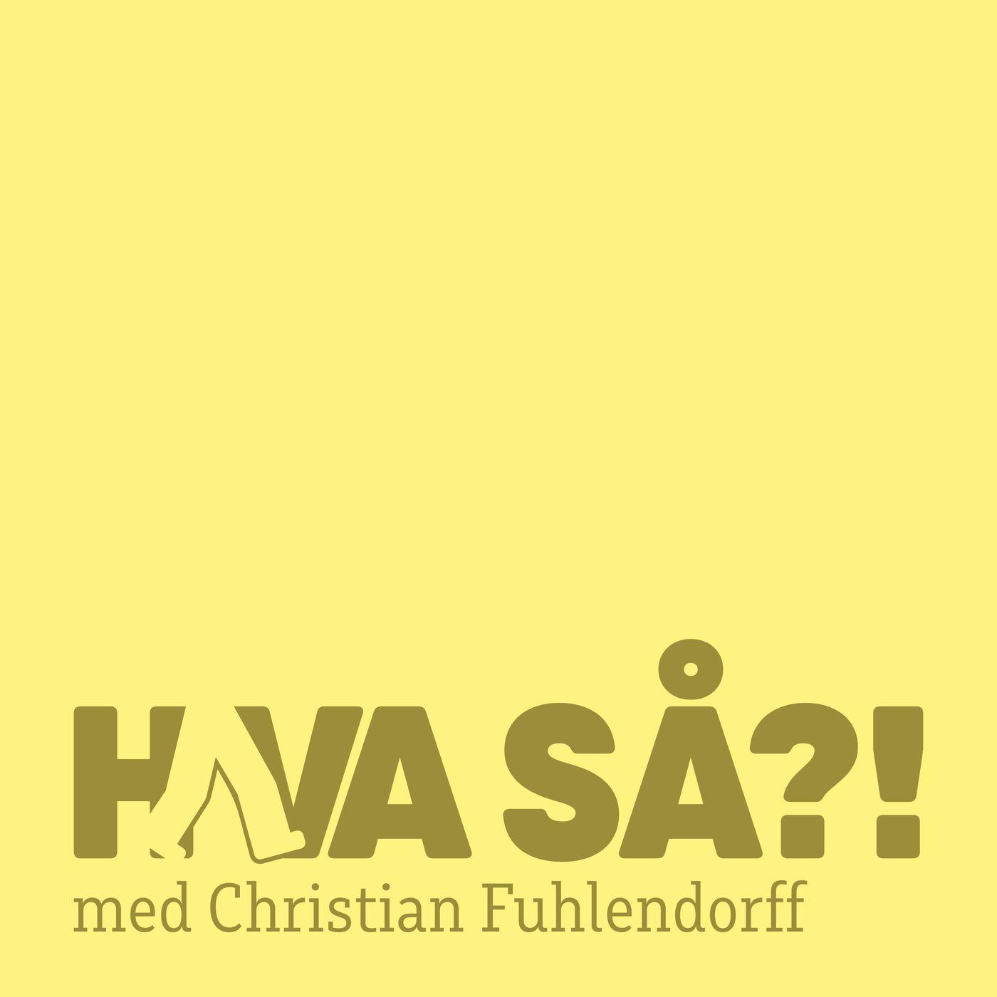 Hva så?! - Morten Elsøe