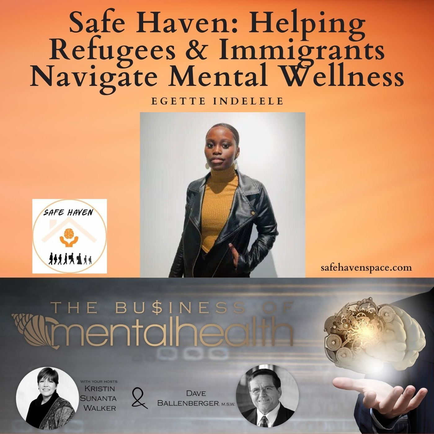 Mental Health News Radio - Safe Haven:  Helping Refugees and Immigrants Navigate Mental Wellness
