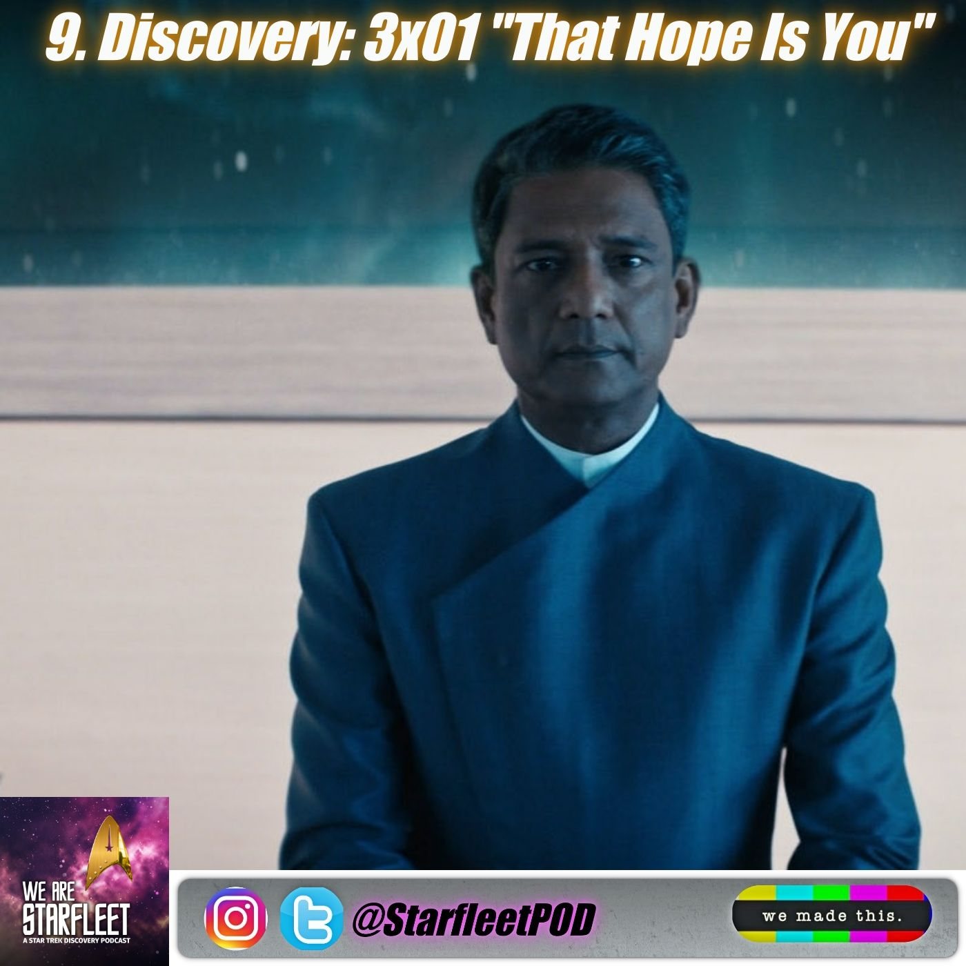 "9. Discovery: 3x01 ""That Hope Is You"""