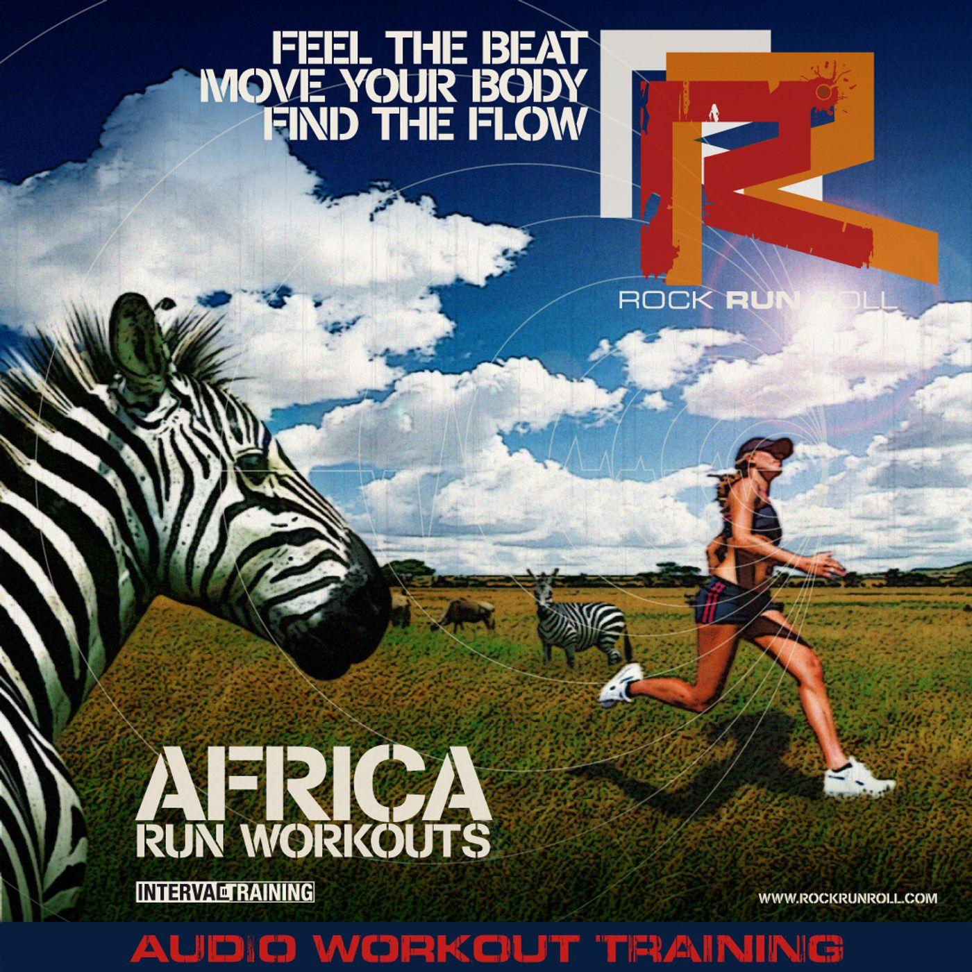 Episodio 37 - SFIDE PER RUNNERS - AFRICA RUN WORKOUT - oggi corriamo 40 minuti in Africa. 7 sessioni a tutto GAS!