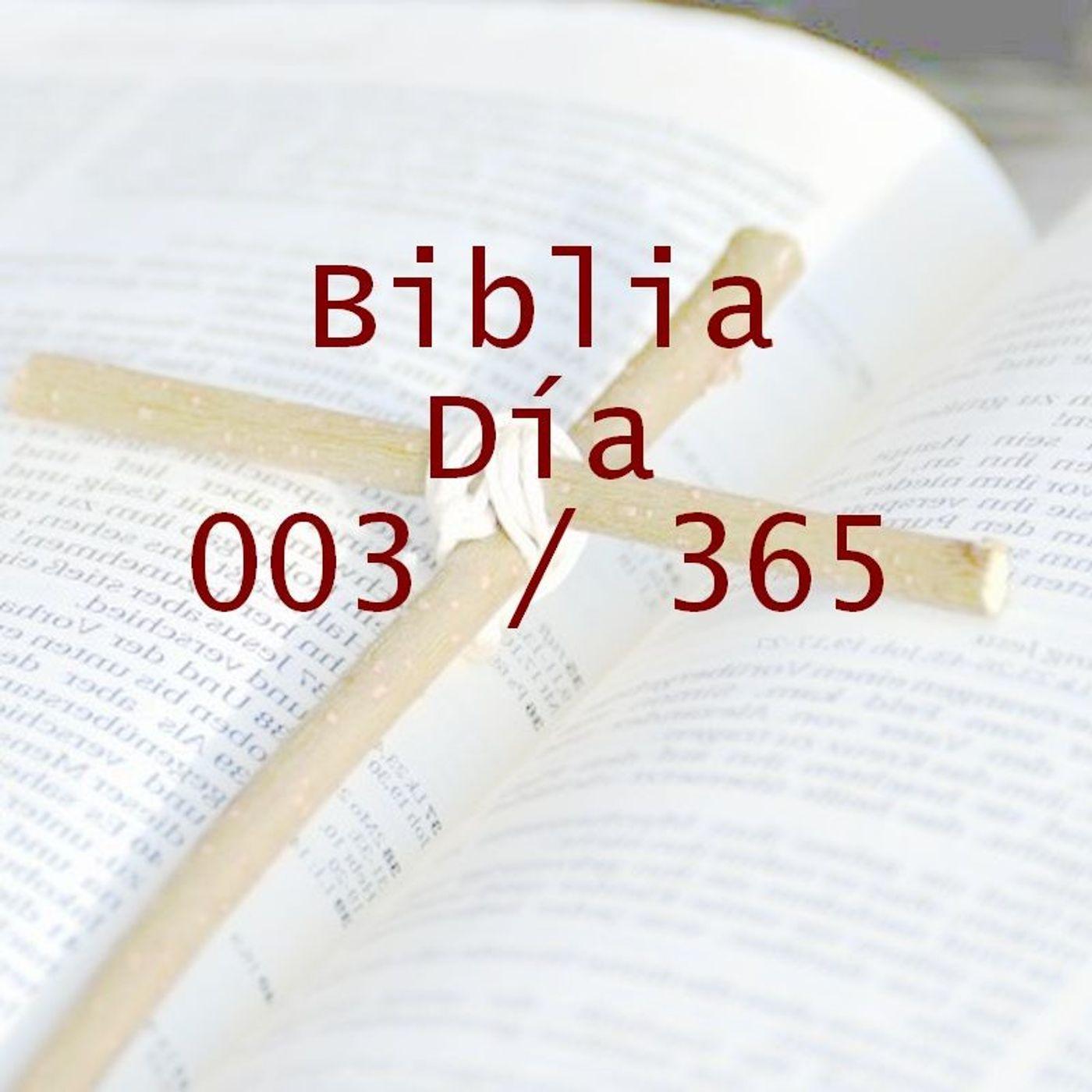 365 dias para la Biblia - Dia 003
