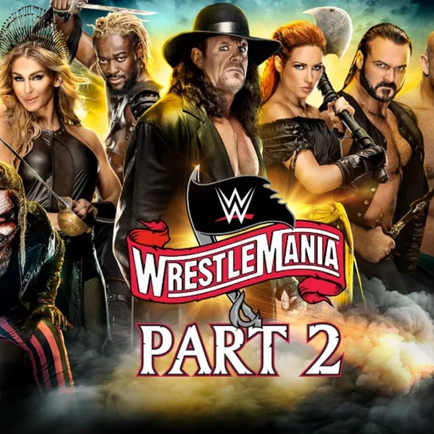 Wrestlemania 36 Live Reaction Part 2