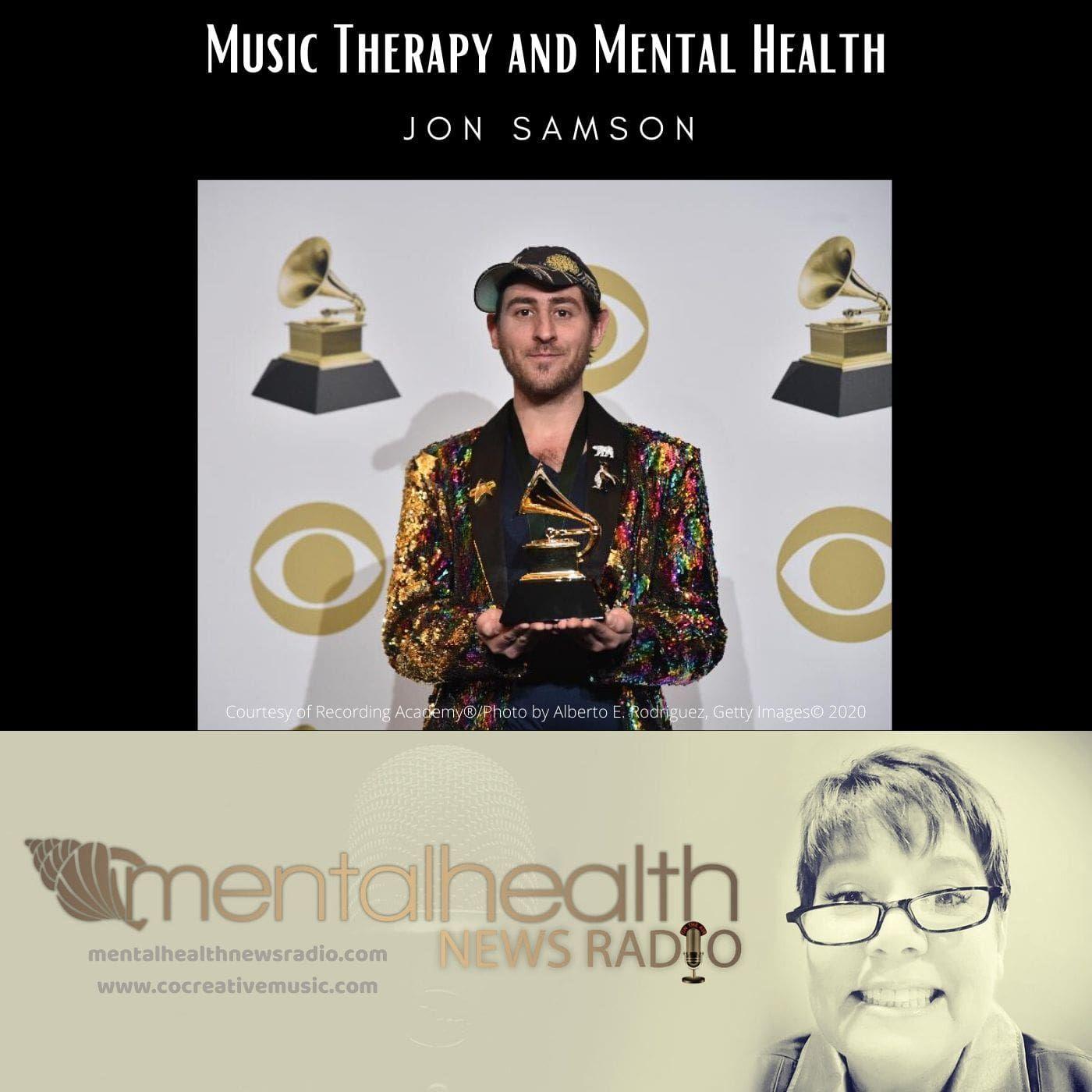 Mental Health News Radio - Music Therapy and Mental Health with Jon Samson