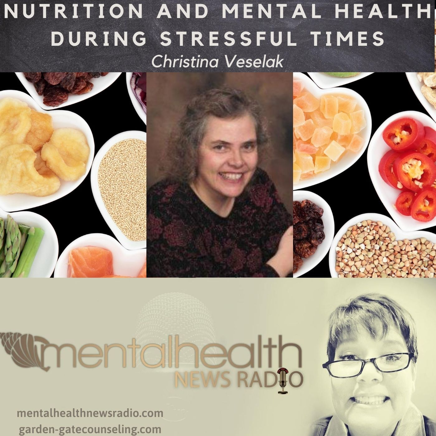 Mental Health News Radio - Nutrition and Mental Health During Stressful Times